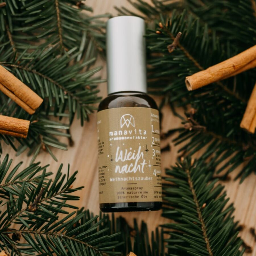 aromaspray weihnacht manavita
